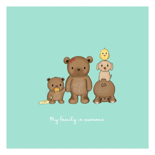 Bear-family-custom-illustration