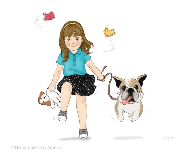 illustration-girl-running-with-dog-lalelilolu-studios